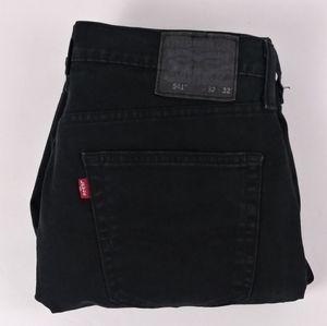 Levi's 541 Athletic fit black jeans size 32 X 32
